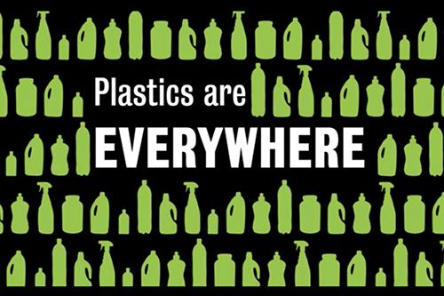 Plastics are everywhere