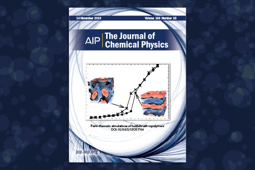 CSP research featured on the cover of The Journal of Chemical Physics