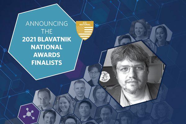 Dauenhauer named a 2021 Blavatnik National Awards Finalist